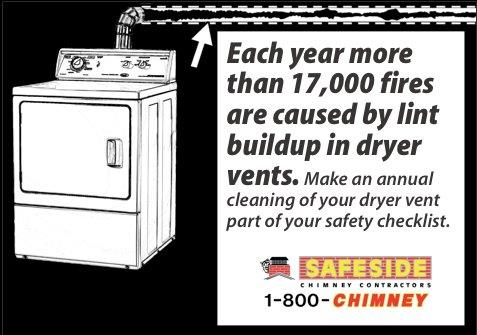 additional benefits of cleaning your dryer vent